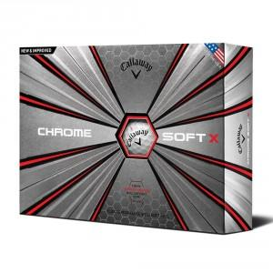 BALLES DE GOLF CHROME SOFT X BLANC - CALLAWAY