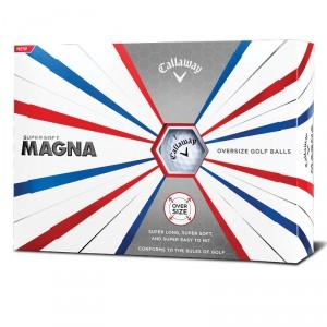 BALLES DE GOLF SUPERSOFT MAGNA BLANC - CALLAWAY