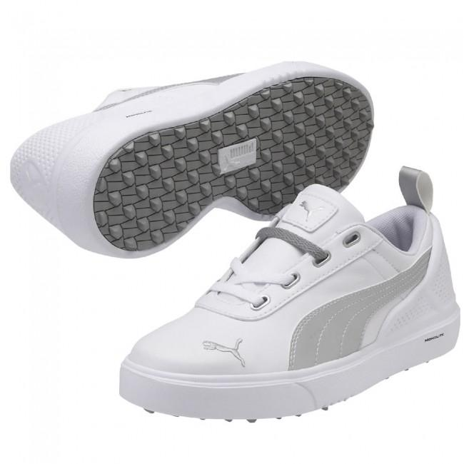 Chaussures de golf Mono Lite blanc junior - PUMA