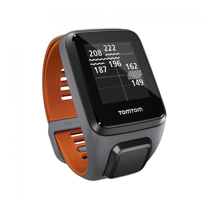 tomtom montre gps golfer 2 se bracelet large gris orange achat vente montre gps golfer 2 se gd. Black Bedroom Furniture Sets. Home Design Ideas