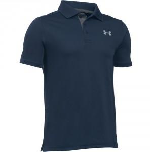 POLO ENFANT PERFORMANCE BLEU - UNDER ARMOUR