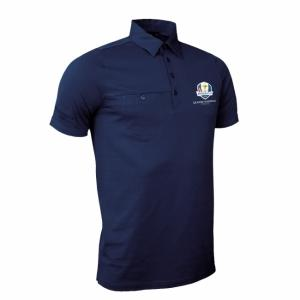 Polo Lowther Ryder Cup 2018 navy - GLENMUIR