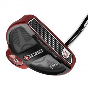 PUTTER OWORKS RED 2-BALL SS PISTOL - ODYSSEY