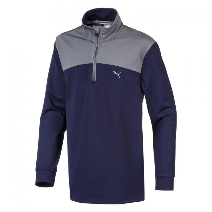 SWEAT JUNIOR 1/2 ZIP WARM - PUMA