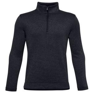 SWEAT JUNIOR FLEECE 1/2 ZIP GRIS - UNDER ARMOUR