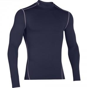 UNDER ARMOUR - S/PULL COMPRESSION BLEU
